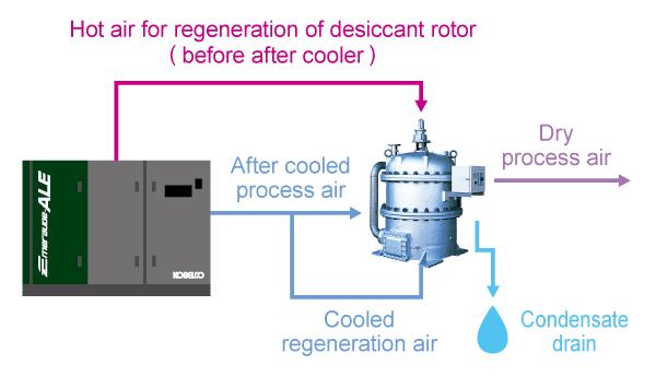 System Flow (compressor-ED Series)