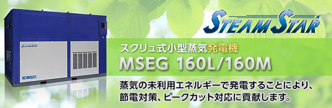 スクリュ小型蒸気発電機 MSEG