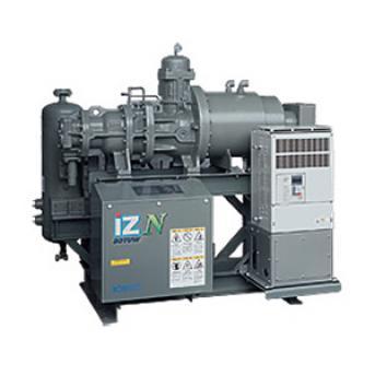 Inverter Drive Ammonia Screw Compressor e_iZN
